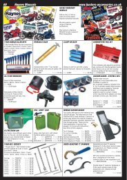 68 Haynes Manuals www.busters-accessories.co.uk