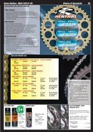 Gold Xring Chain and Sprocket kit Suzuki GS425 79-80