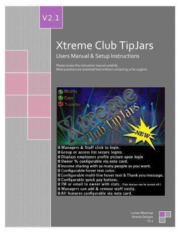 Xtreme Club TipJars