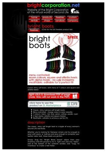 bright boots