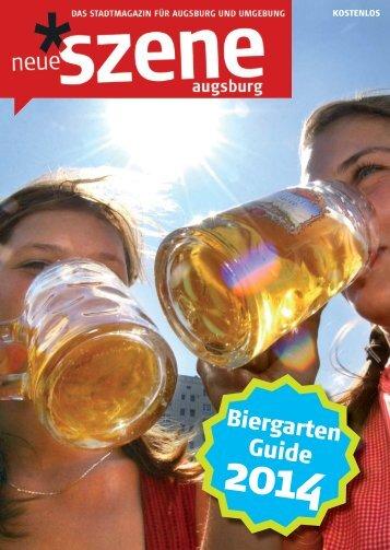 Biergarten-Guide 2014