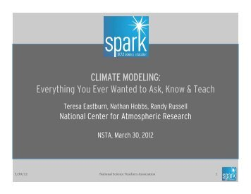 Modeling PowerPoint, Part I and II - Spark