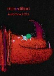 Catalogue minedition automne 2012