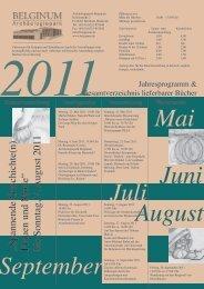 Mai Juni Juli September August 2011 - Belginum Archäologiepark