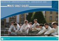 Jahresbericht 2008 - Linz - Katholische Jungschar