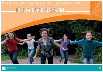 Jahresbericht 2010 - Linz - Katholische Jungschar
