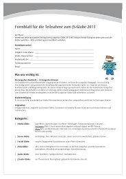 Formblatt Jungscharglobe2013 .indd - Linz