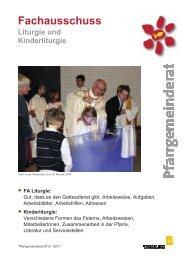 Fachausschuss Liturgie und Kinderliturgie - Linz - Katholische ...