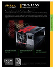 Product Flyers - Antec