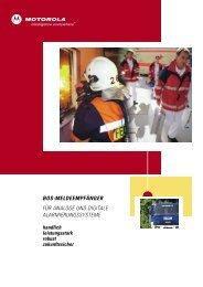 Melderprospekt - Bocom Kommunikationstechnik