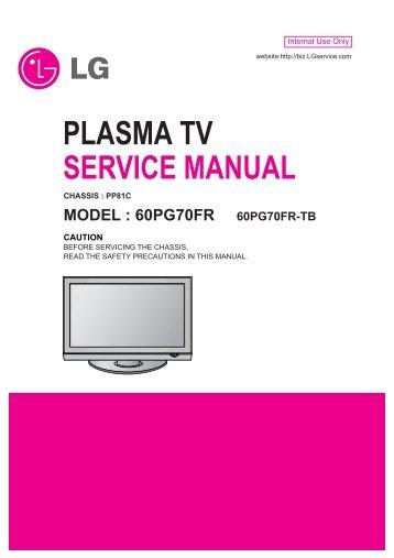 lg 42pt250 42pt250 za plasma tv service manual download rh yumpu com lg plasma tv owner's manual lg 42px4rv plasma tv service manual