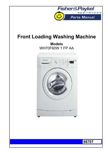 nec nw 452 washing machine manual