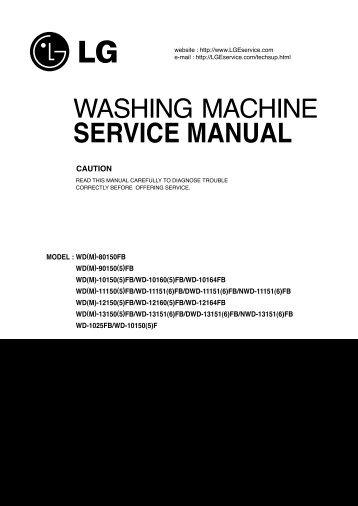 washing machine service manual jordans manuals rh yumpu com Samsung Washing Machine Repair Manual Whirlpool Washing Machine Schematics