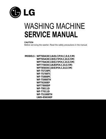 washing machine service manual jordans manuals rh yumpu com Manually Operated Washing Machine Whirlpool Washing Machine Troubleshooting