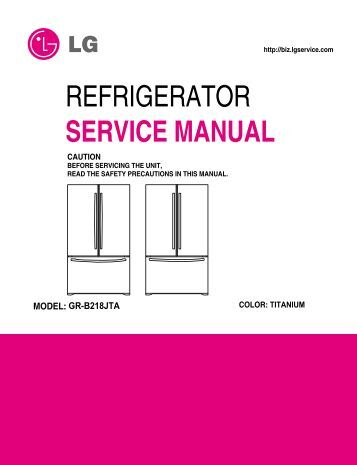 Parts manual For Whirlpool refrigerator No ice Maker user