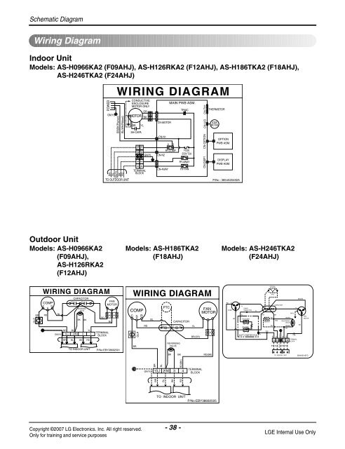 Lg Room Air Conditioner Wiring Diagram