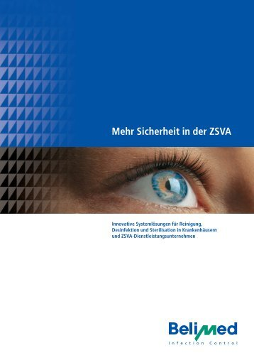 Sicherheit in der ZSVA - Belimed
