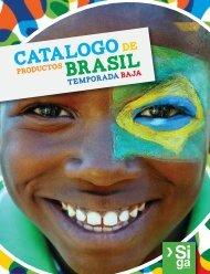 Catalogo de Productos Brasil. Temporada Baja 2014.