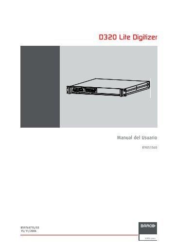 D320 Lite Digitizer - Barco