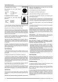BEDIENUNGSANLEITUNG - Barco - Seite 7