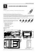 BETRIEBSANLEITUNG - Barco - Seite 7