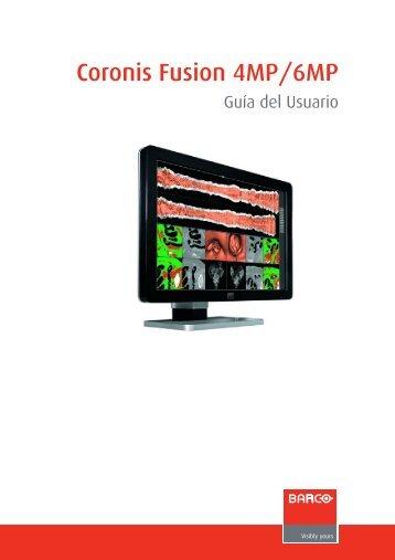 K5902015-06 User Guide Coronis Fusion 4MP6MP_ES.fm - Barco