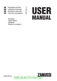 Zanussi ZWQ31504 mosógép - GRX Electro Outlet