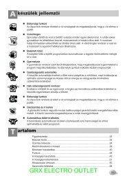 LG F1407TDS6 gőzös mosógép - GRX Electro Outlet