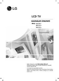 LG 15LC1R*/20LC1R*/23LC1R* LCD Tv