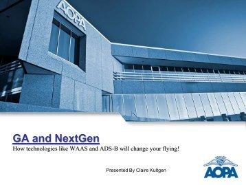 GA and NextGen