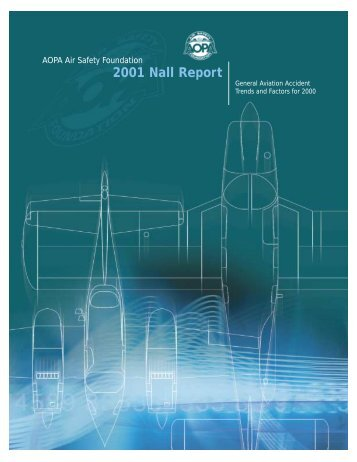 2001 Nall Report - Aircraft Owners and Pilots Association