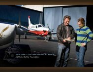 report to supporters, donors and AOPA members - Aircraft Owners ...