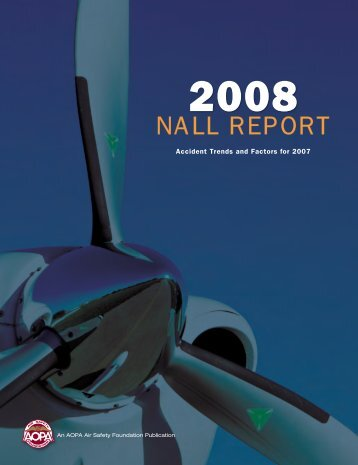 2008 Nall Report - Aircraft Owners and Pilots Association