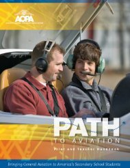 AOPA's PATH to Aviation - Aircraft Owners and Pilots Association