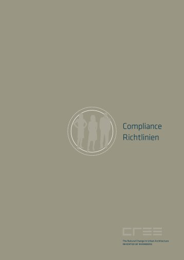 Compliance Richtlinien - cree by rhomberg