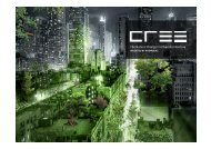 The Natural Change in Urban Architecture - cree by rhomberg