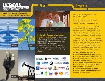 STEPS Brochure - Institute of Transportation Studies - UC Davis