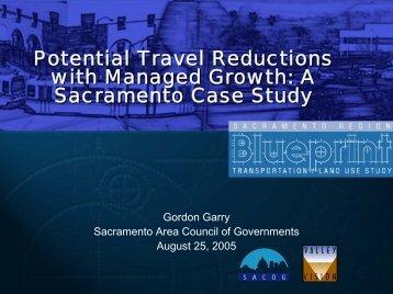 Caltrans Blueprint Workshop - Institute of Transportation Studies