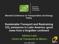 Sustainable Transport and Restraining CO 2 emissions in Latin ...
