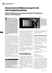 Automatische Bildbewertung für die Störfestigkeitsprüfung - EuE24.net