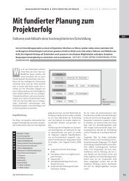 Mit fundierter Planung zum Projekterfolg Faktoren und ... - EuE24.net
