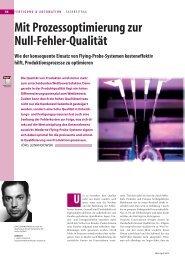 Mit Prozessoptimierung zur Null-Fehler-Qualität - PuA24.net