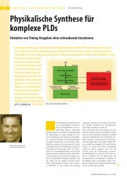 Physikalische Synthese für komplexe PLDs Einhalten ... - EuE24.net