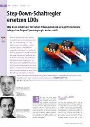 Step-Down-Schaltregler ersetzen LDOs - PuA24.net
