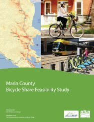 Bike Share Feasibility Study - Marin County Bicycle Coalition