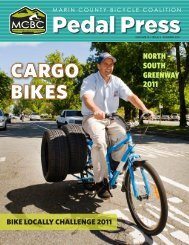 BIKE LOCALLY CHALLENGE 2011 - Marin County Bicycle Coalition