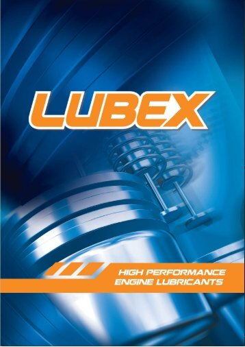 Please click to download Lubex catalogue