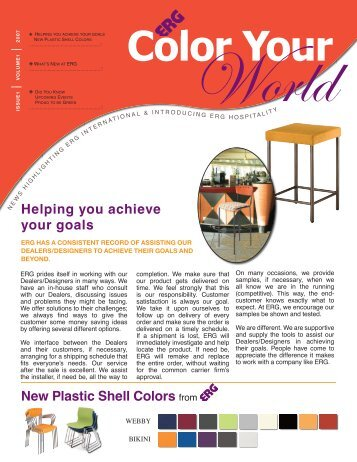 Helping you achieve your goals New Plastic ... - ERG International