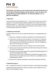 Meister Info [PDF] - Fachhochschule Düsseldorf