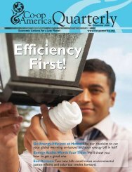 Efficiency First - Green America